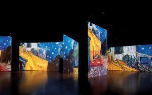 visita a la exposición Van Gogh alive. the experience