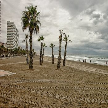 Semana santa lluviosa en Alicante