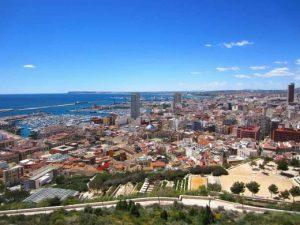 Vistas a Alicante desde Parque ERETA