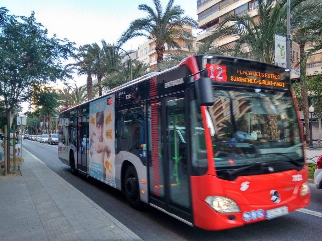 El transporte urbanos ha sufrido varios cambios.
