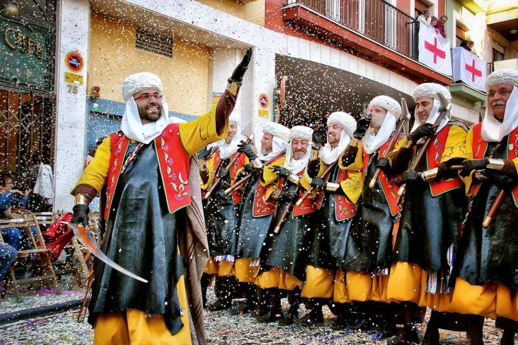 Fiesta-Moros-y-Cristianos-Alcoy-en-Alicante - símbolo