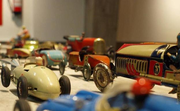 Antiguos juguetes fabricados en Ibi.
