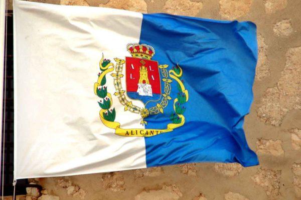 Bandera Alicante free