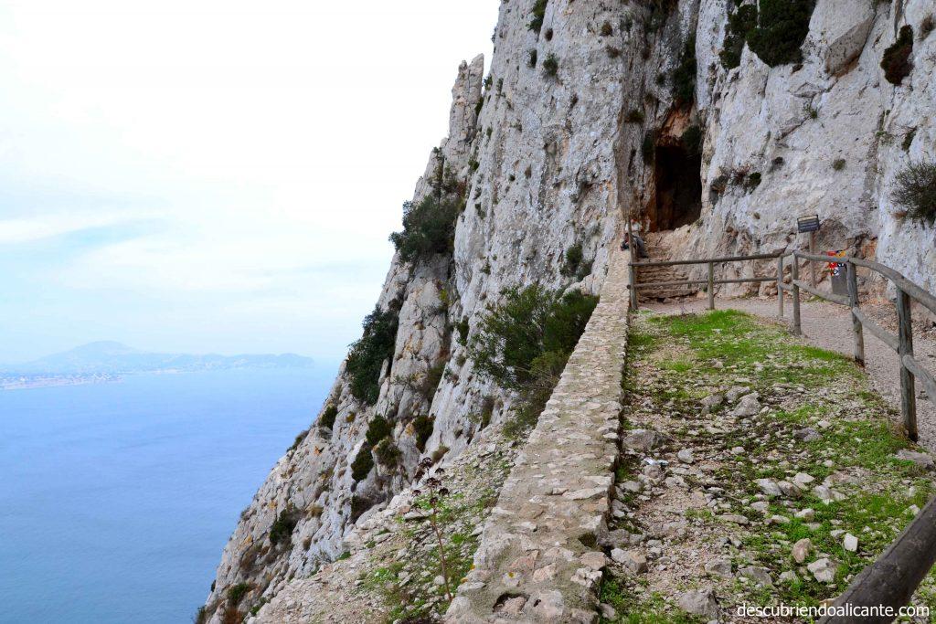 zona-del-tunel-del-penon-de-ifach-calpe